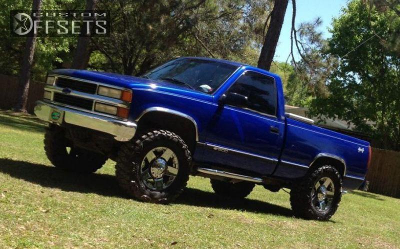 1989 Chevrolet K1500 Xd Rockstar Body Lift 3in