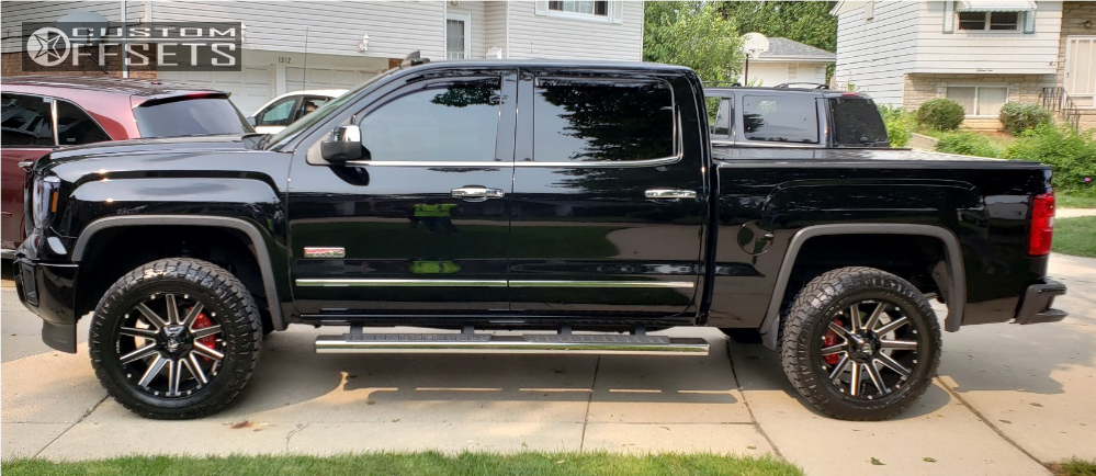 2015 Gmc Sierra 1500 Fuel Contra Motofab Leveling Kit ...