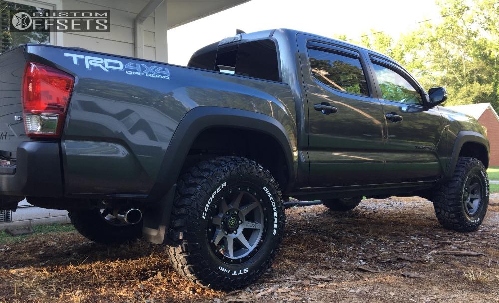 2017 Toyota Tacoma Icon Rebound Bilstein Leveling Kit