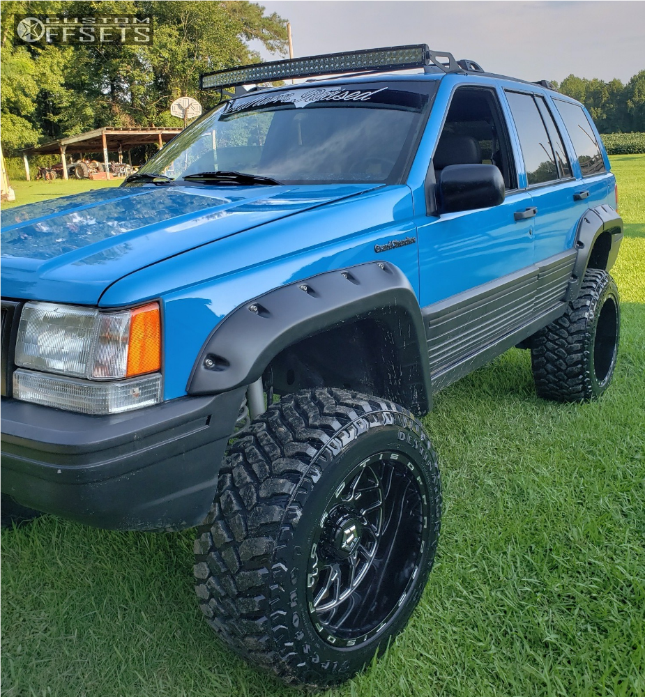 1994 Jeep Grand Cherokee Tis 544bm Rough Country
