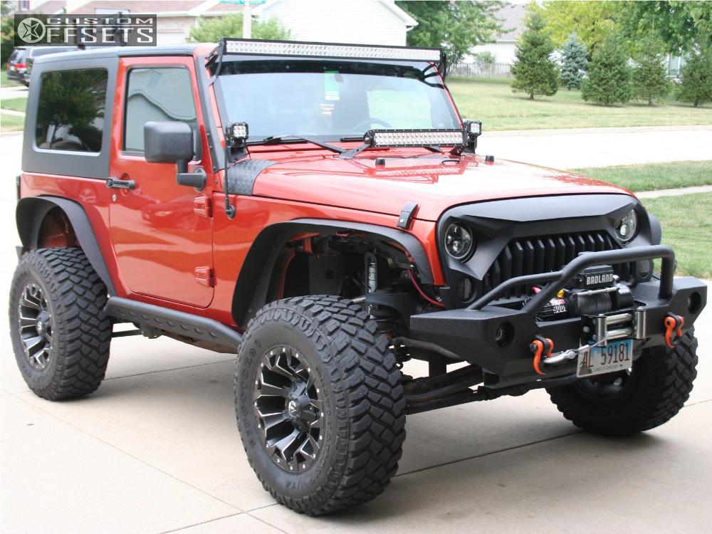 2009 Jeep Wrangler Fuel Assault Bds Suspension Suspension ...