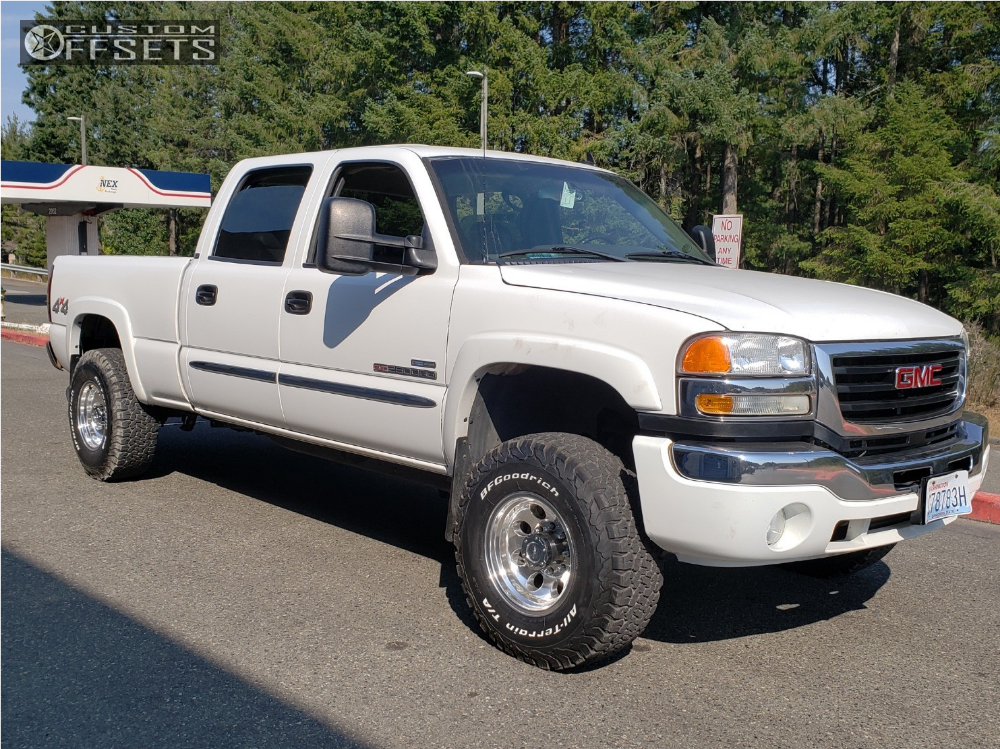 2007 Gmc Sierra 2500 Hd Classic Pro Comp 69 Rough Country Leveling Kit | Custom Offsets