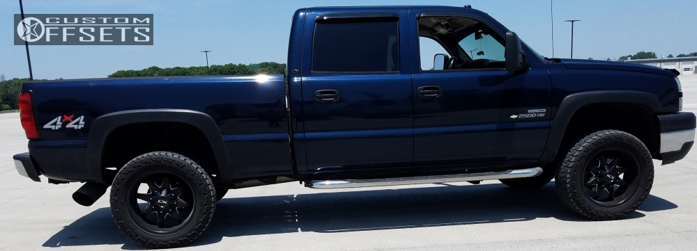 2 2006 Silverado 2500 Hd Chevrolet Stock Stock Ion Alloy Style 183 Black