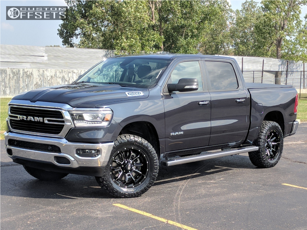Ram 1500 Aftermarket Wheels >> 2019 Ram 1500 Vision Bomb Rough Country Suspension Lift 35in