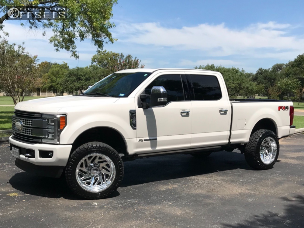 1 2017 F 250 Super Duty Ford Bds Leveling Kit American Force Acid Cc Polished