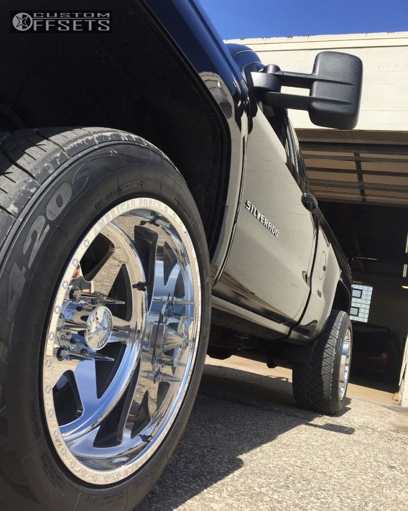 13 2014 Silverado 1500 Chevrolet Suspension Lift 35 American Force Independence Ss6 Chrome Super Aggressive 3 5