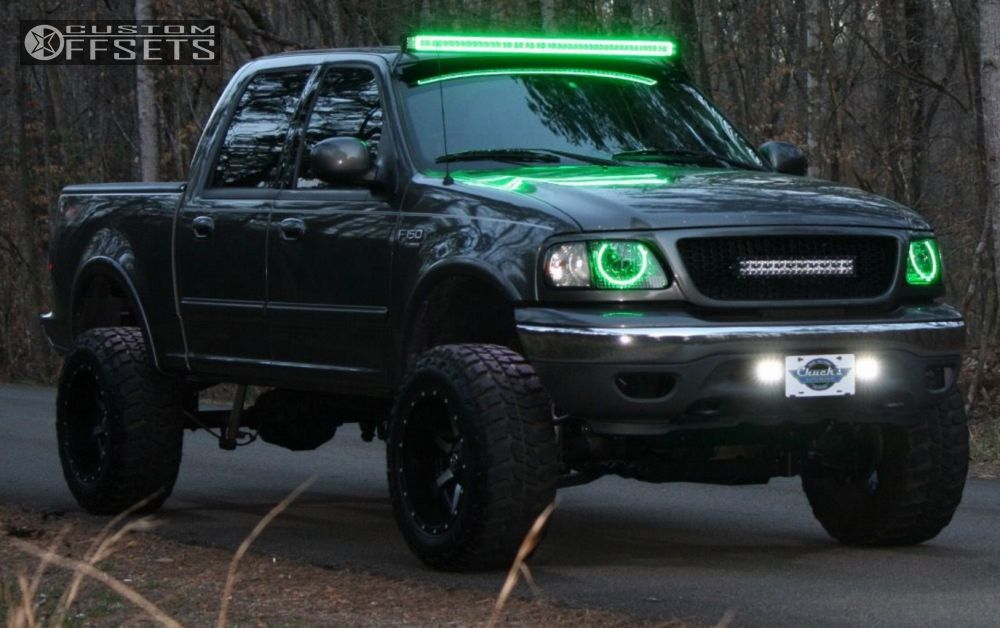 2002 Ford F 150 Fuel Maverick Rough Country Suspension Lift 5in