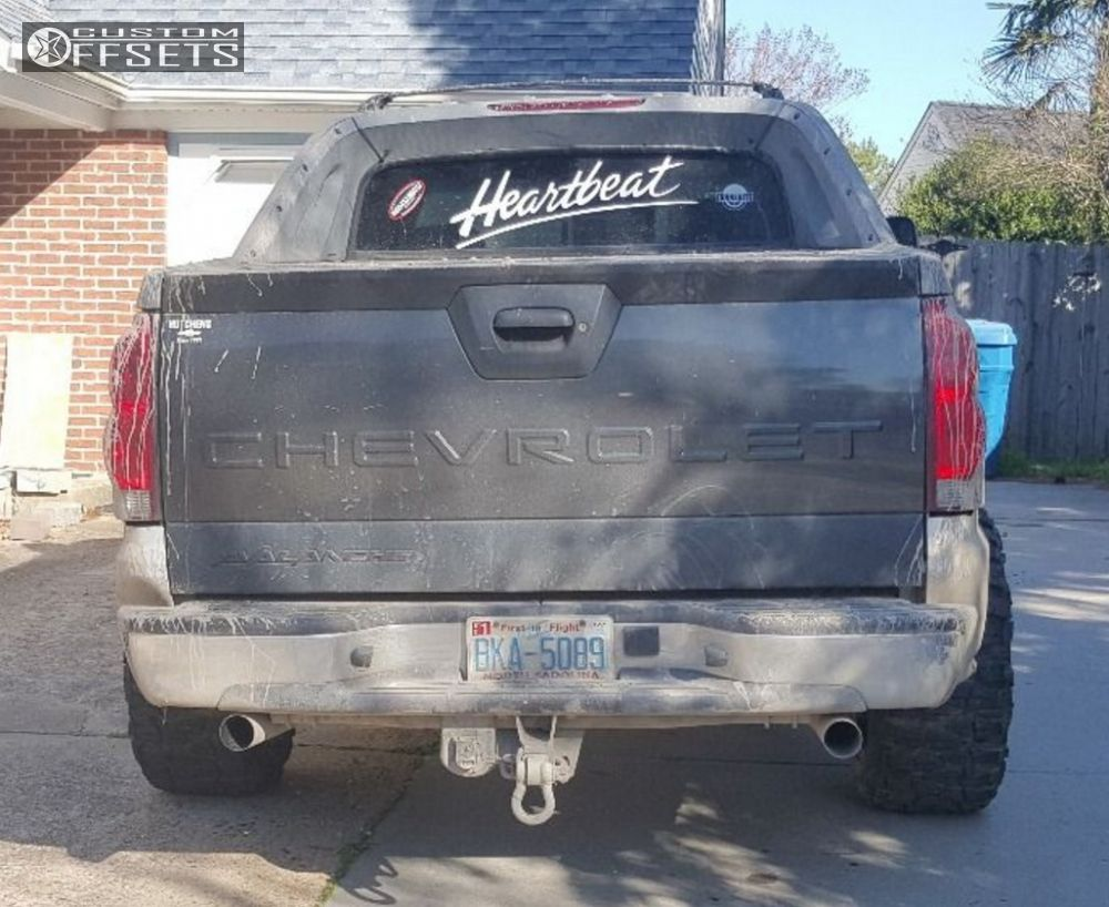 Avalanche 2002 chevy avalanche lift kit : Wheel Offset 2002 Chevrolet Avalanche 2500 Super Aggressive 3 5 ...