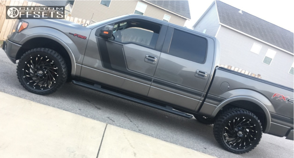 xf ford leveling kit offroad wheel rough country road custom