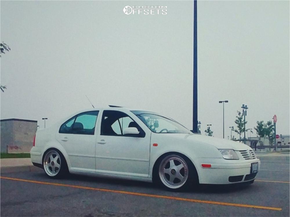 2001 Volkswagen Jetta Oz Racing Futura Spax Coilovers Offsets Garage