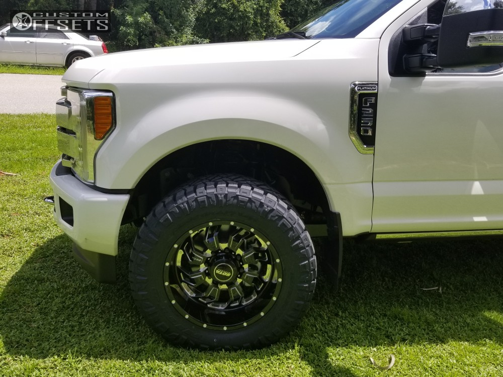 5 2019 F 250 Super Duty Ford Stock Stock Sota Scar Machined Accents