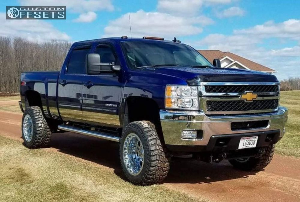 1 2013 Silverado 2500 Hd Chevrolet Suspension Lift 5 Center Line Lt1 Chrome Super Aggressive 3 5