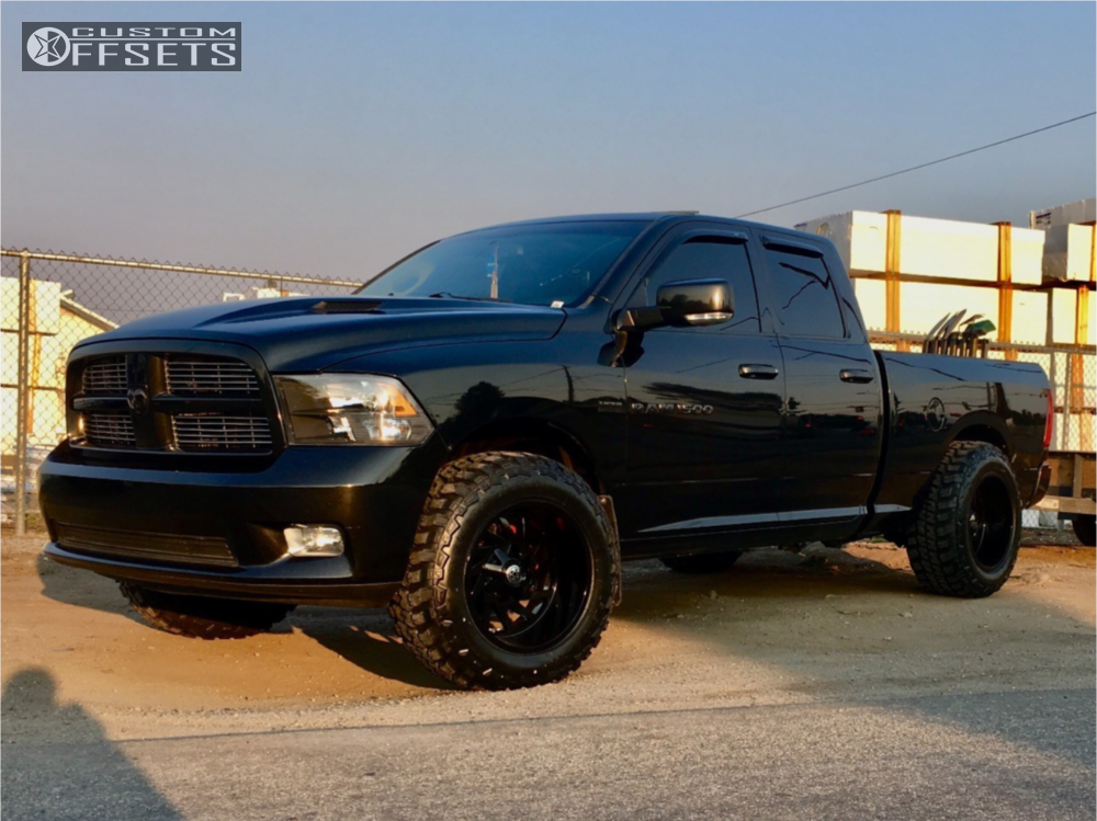 Custom Dodge Ram 1500 >> 2011 Dodge Ram 1500 Hardrock Crusher H704 Custom Custom