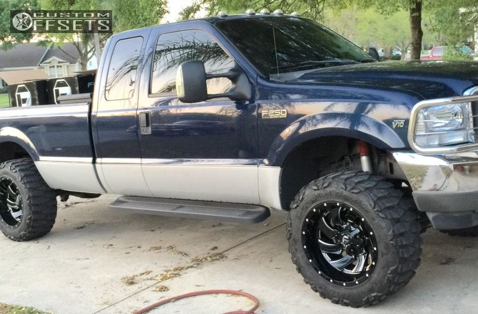 2004 Ford F 250 Super Duty Fuel Cleaver Leveling Kit