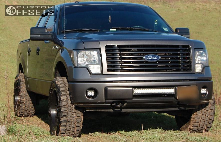 Garcias Tire Shop >> 2014 Ford F 150 Fuel Nuts Rough Country Leveling Kit Custom Offsets