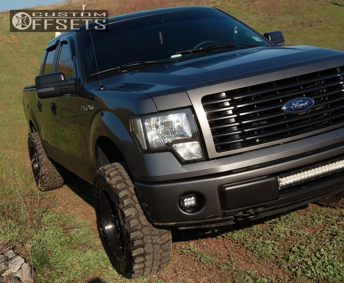 Garcias Tire Shop >> 2014 Ford F 150 Fuel Nuts Rough Country Leveling Kit
