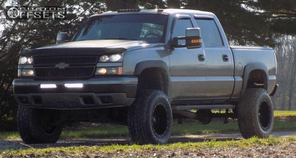 Aftermarket Rims For Chevy Silverado 1500 >> 2006 Chevrolet Silverado 1500 Fuel Hostage Rough Country Suspension Lift 6in Custom Offsets