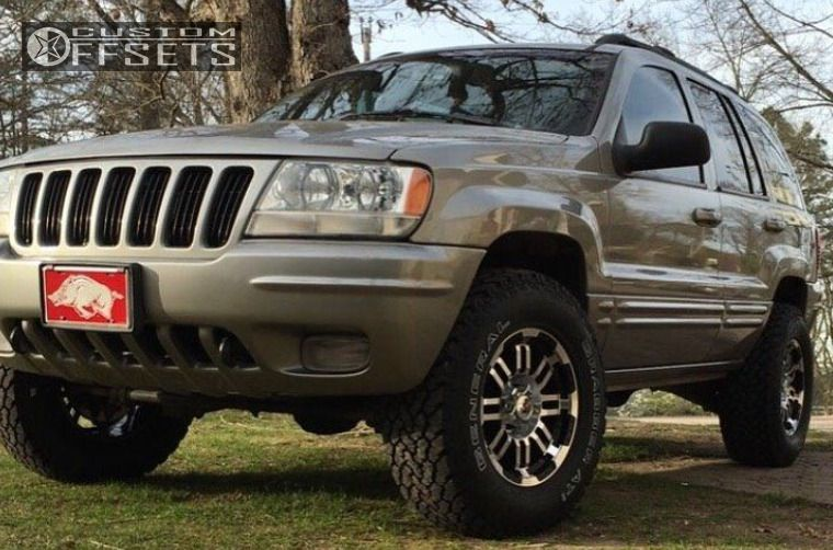 2000 Jeep Grand Cherokee Vision Warrior Rough Country ...