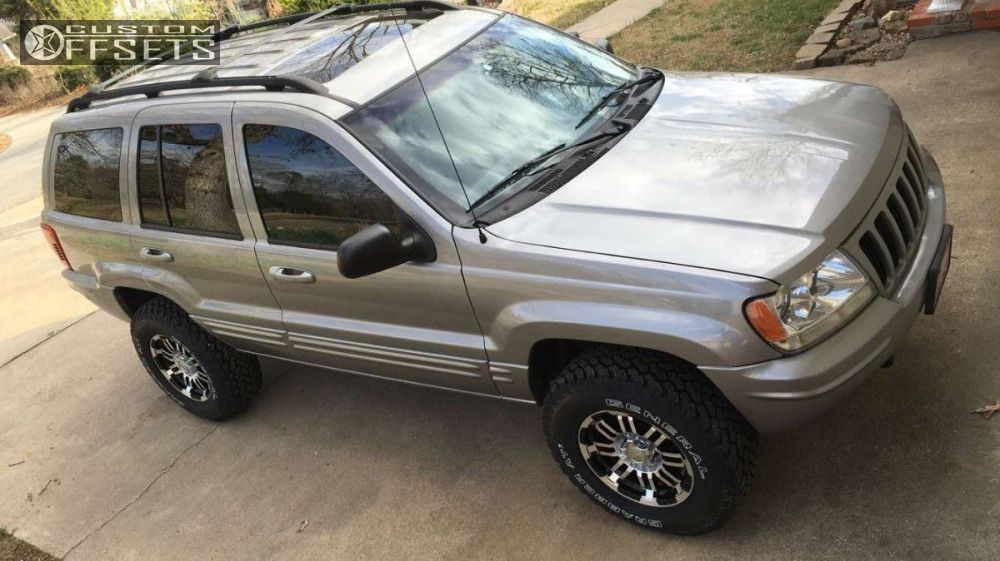 2000 Jeep Cherokee Lifted >> 2000 Jeep Grand Cherokee Vision Warrior Rough Country Suspension Lift 3in