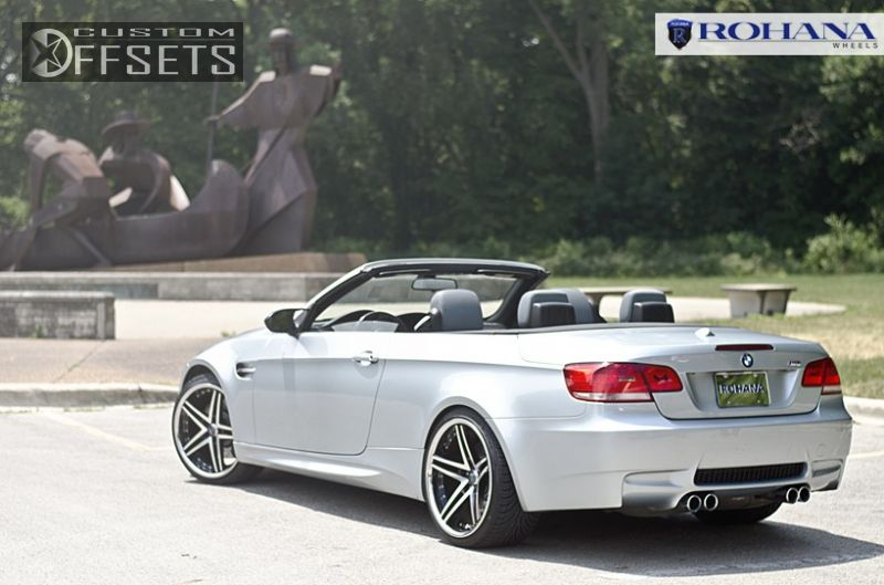 M Bmw Dr Convertible L Cyl M Stock Rohana Rc Machined Accents Flush