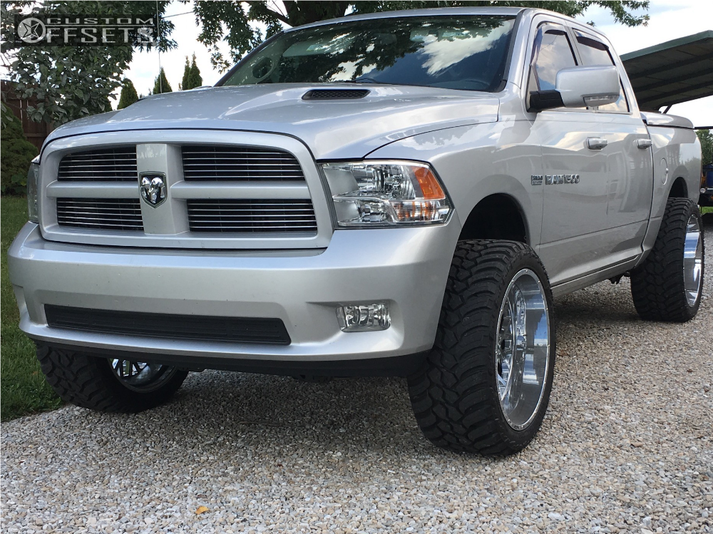 1 2011 1500 Ram Rough Country Suspension Lift 4in Vision Rocker Chrome
