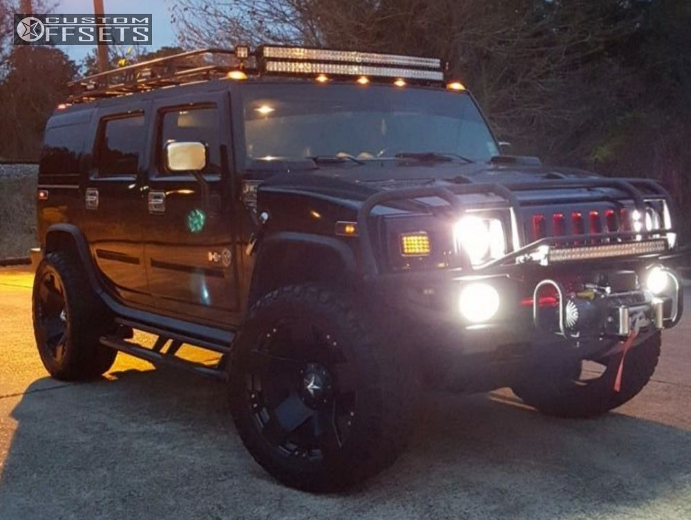 2005 Hummer H2 Xd Xd775 Cognito Suspension Lift 35in