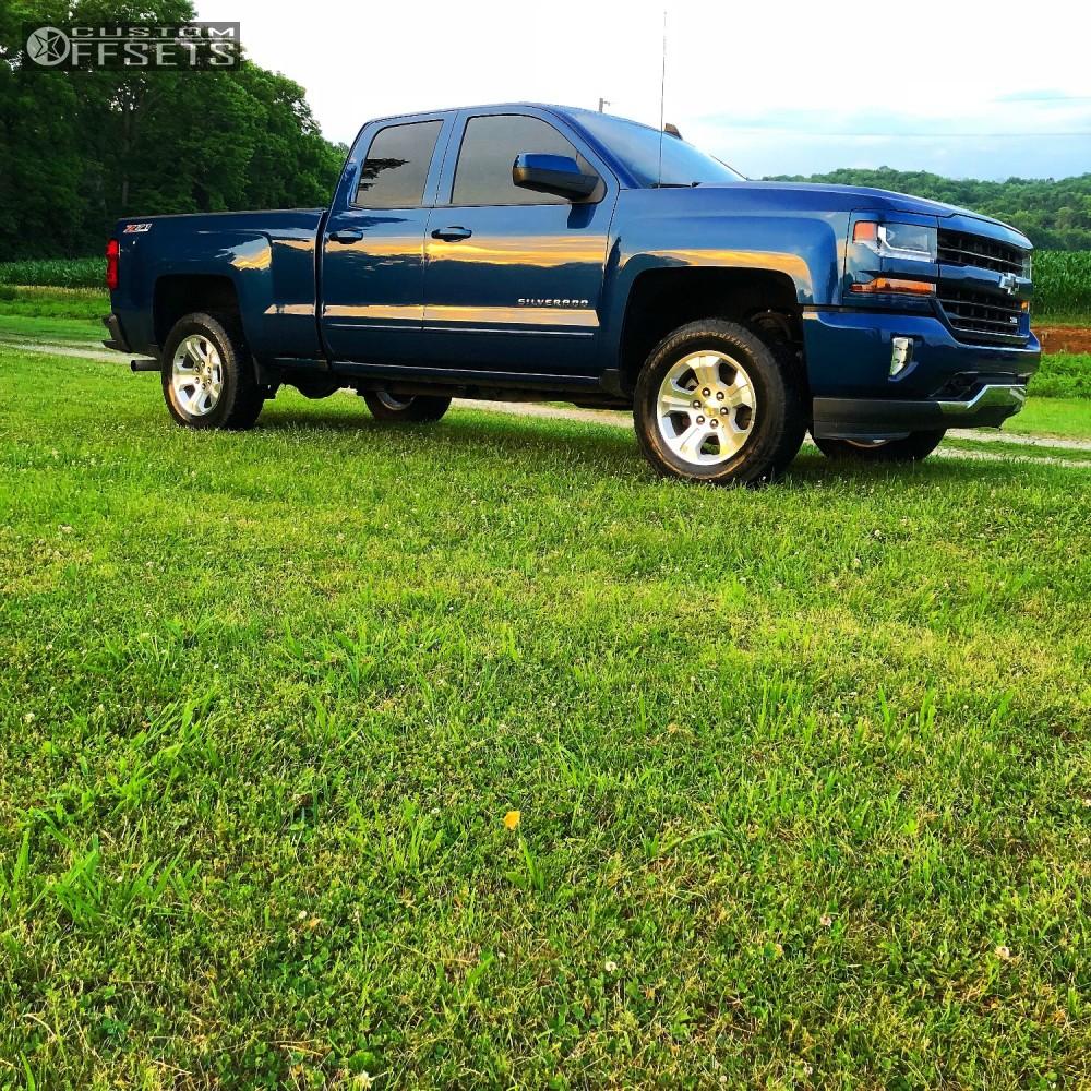 1 2016 Silverado 1500 Chevrolet Rough Country Leveling Kit Hostile Sprocket Chrome