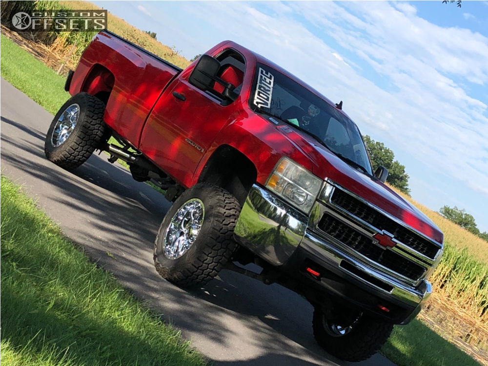 1 2007 Silverado 2500 Hd Chevrolet Rough Country Suspension Lift 6in Ultra Hunter Chrome