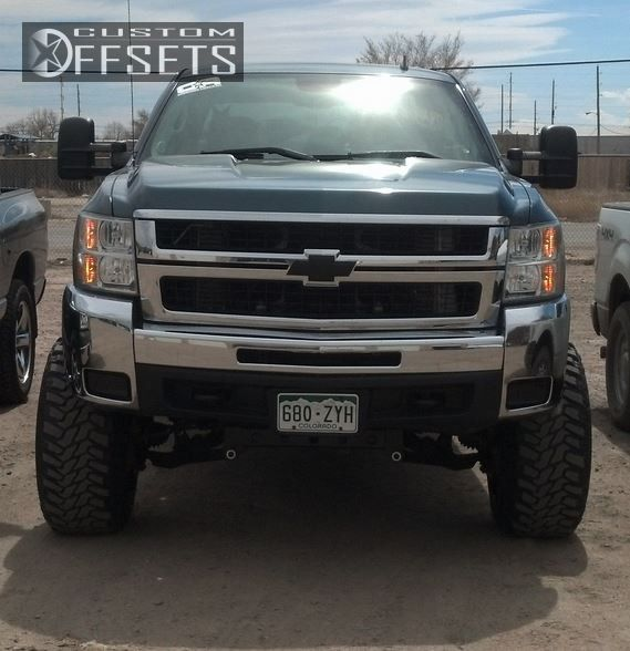 2009 Chevrolet Silverado 2500 Hd Fuel Hostage Pro Comp