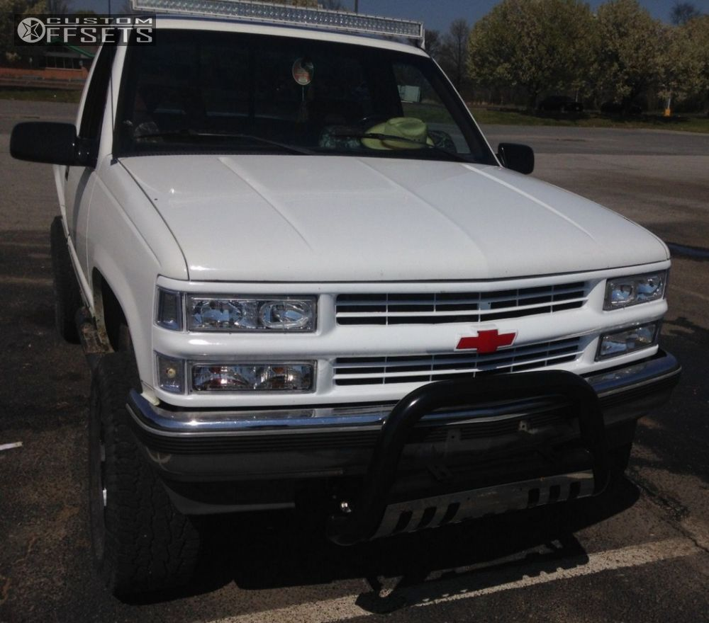 1991 Chevrolet K1500 Vision Warrior Rough Country Leveling Kit ...