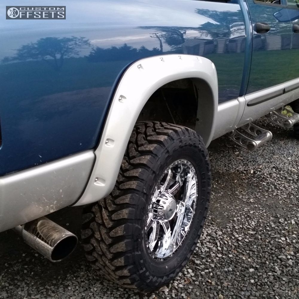 Rough Country 4wd Dodge Ram 2500 3500 Mega Cab 5 Lift: 2003 Dodge Ram 2500 Raceline Assault Rough Country
