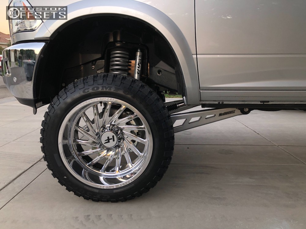 2018 Ram 2500 Hostile Forged Chaos Mcgaughys Suspension Lift 6in