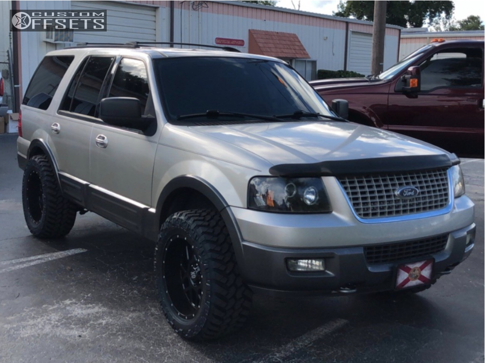 Expedition Ford Rough Country Leveling Kit Xd Xd Matte Black
