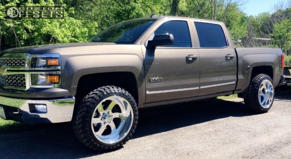 2014 Chevrolet Silverado 1500 American Force Blade Ss Leveling Kit