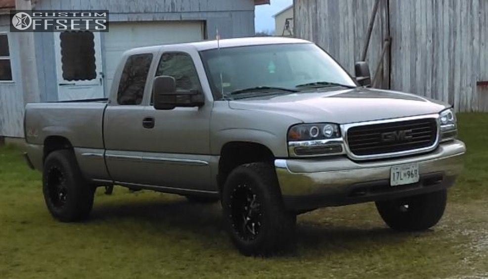 1999 Gmc Sierra 1500 Moto Metal Mo970 Rough Country Suspension Lift 3in