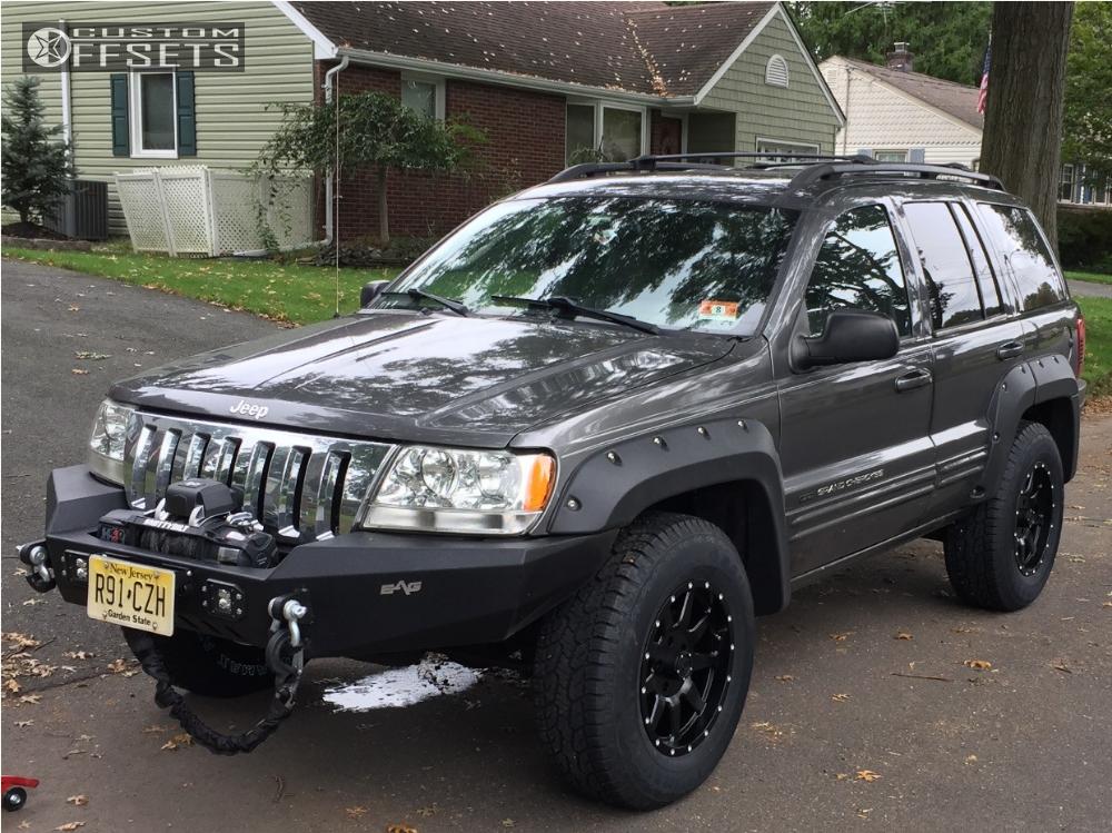 2004 Jeep Grand Cherokee Gear Alloy Overdrive Skyjacker Leveling Kit
