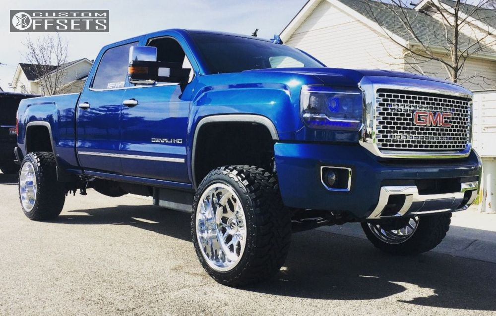 47459 12 2015 sierra 2500 hd gmc suspension lift 3 fuel other polished