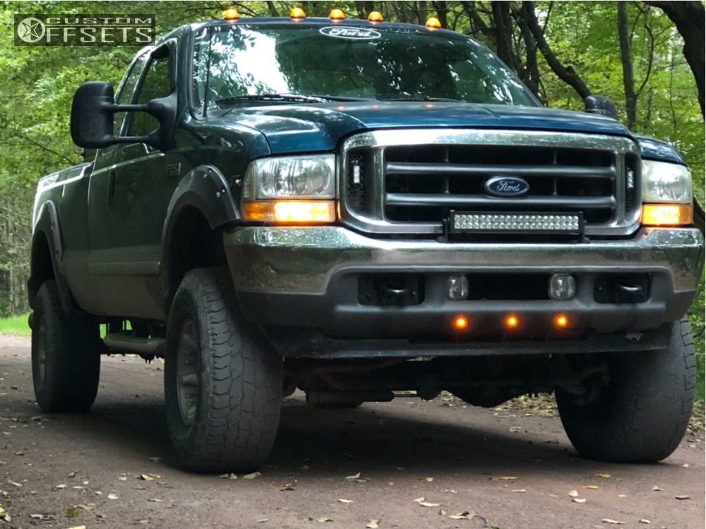 Super Duty Ford Ebay Suspension Lift In American Racing Atlas Silver