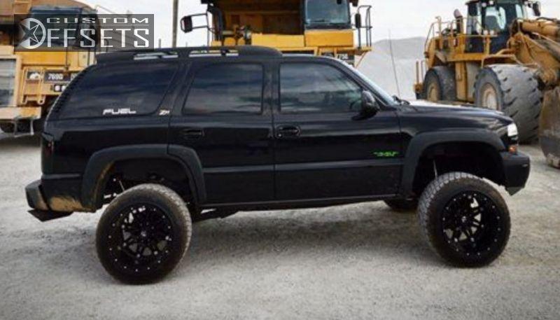 Wheel Offset 2003 Chevrolet Tahoe Hella Stance 5 Suspension Lift 6. 3 2003 Tahoe Chevrolet Suspension Lift 6 Fuel Hostage Black Super Aggressive. Wiring. 03 Tahoe Fuse Box At Eloancard.info