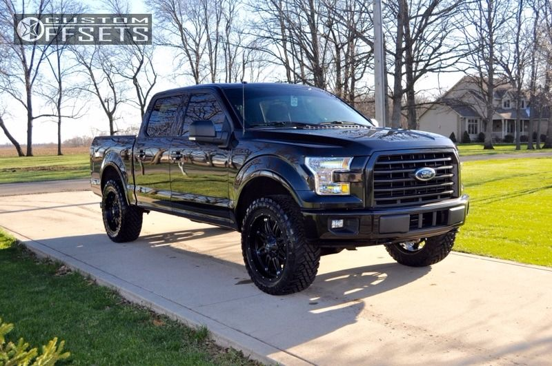 2015 Ford F 150 Fuel Hostage Rough Country Leveling Kit Custom Offsets