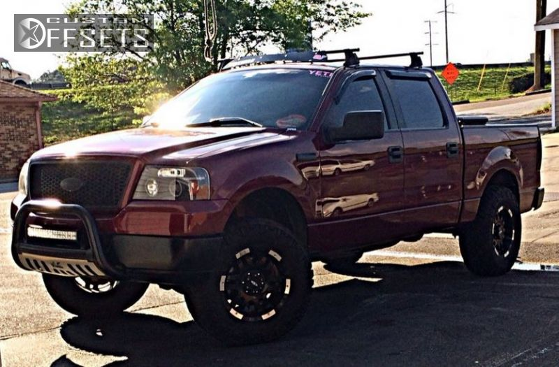 Wheel Offset 2005 Ford F 150 Aggressive 1 Outside Fender