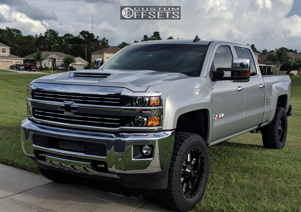 1 2019 Silverado 3500 Hd Chevrolet Rough Country Leveling Kit Xd Xd838 Machined