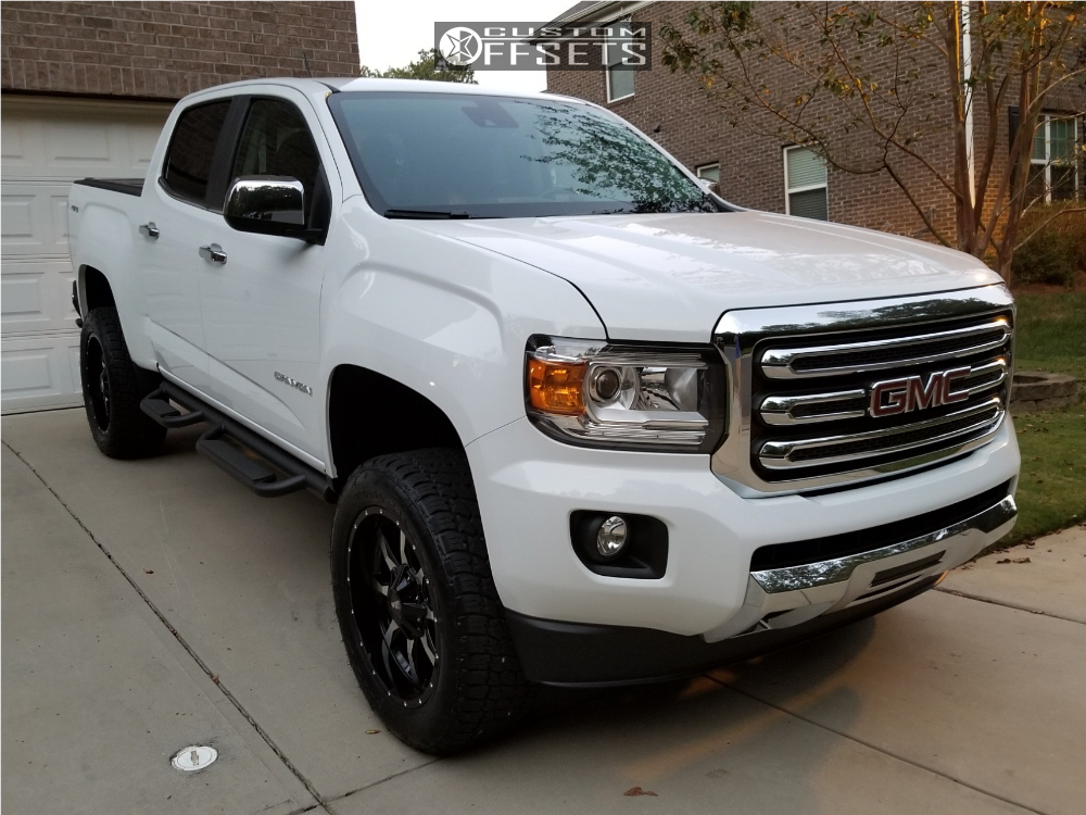 2018 Gmc Canyon Moto Metal Mo970 Rough Country Suspension Lift 4in