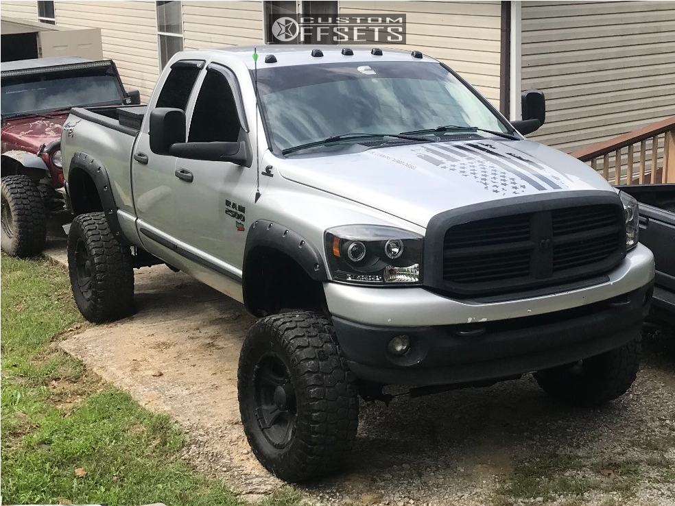 Blacked Out Ram >> 2007 Dodge Ram 2500 Dick Cepek Blackout Zone Suspension Lift
