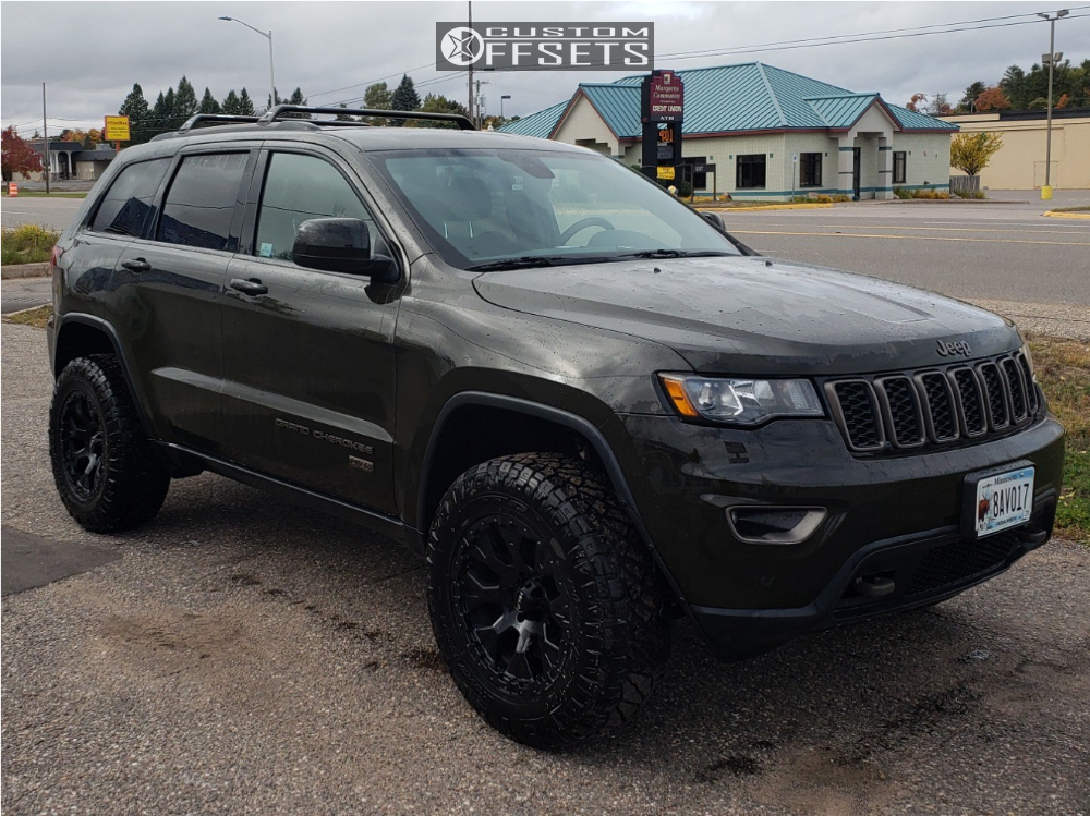 2016 Jeep Grand Cherokee Helo He878 Rocky Road Outfitters Suspension