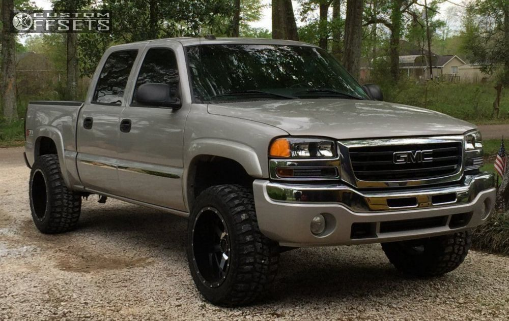 2005 gmc sierra 1500 gear alloy big block rough country suspension lift 3in. Black Bedroom Furniture Sets. Home Design Ideas