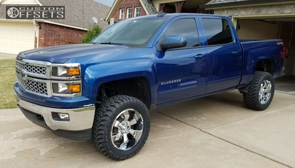 2015 Chevrolet Silverado 1500 Hostile Hammered Zone ...