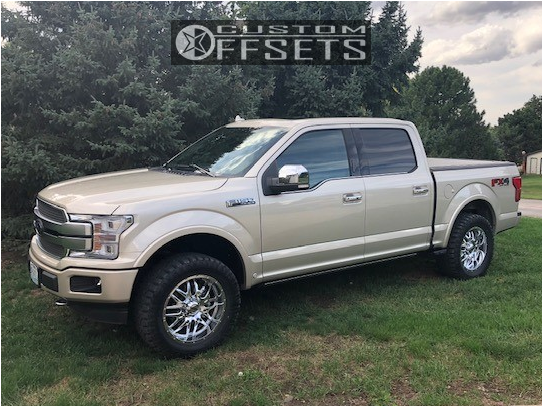 1 2018 F 150 Ford Pro Comp Leveling Kit Ultra Hunter Chrome