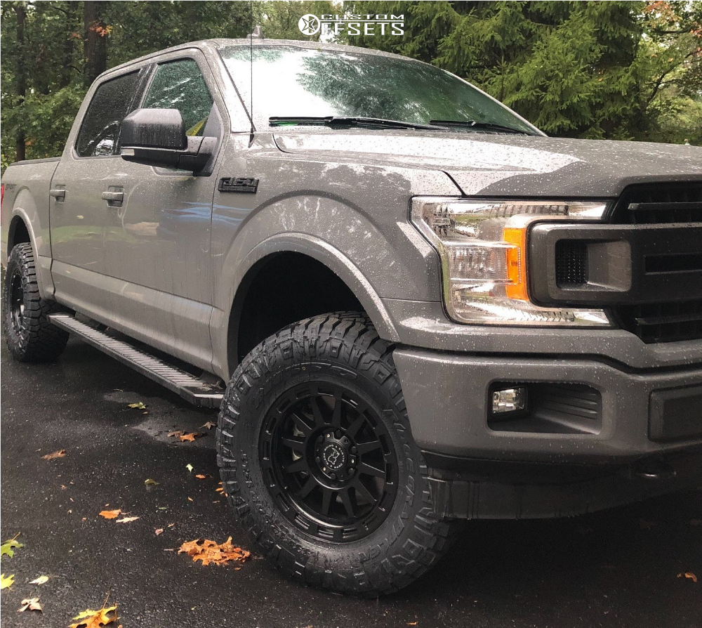 Leveling Kit For Ford F150: 2018 Ford F 150 Black Rhino Revolution Rough Country