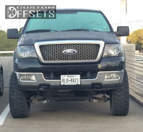 2005 ford f 150 pro p 6089 custom suspension lift 6in offsets garage Ford F-150 Rabtor 1 2005 f 150 ford suspension lift 6 pro p 6089 chrome slightly aggressive